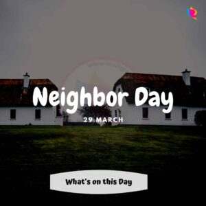Neighbor Day