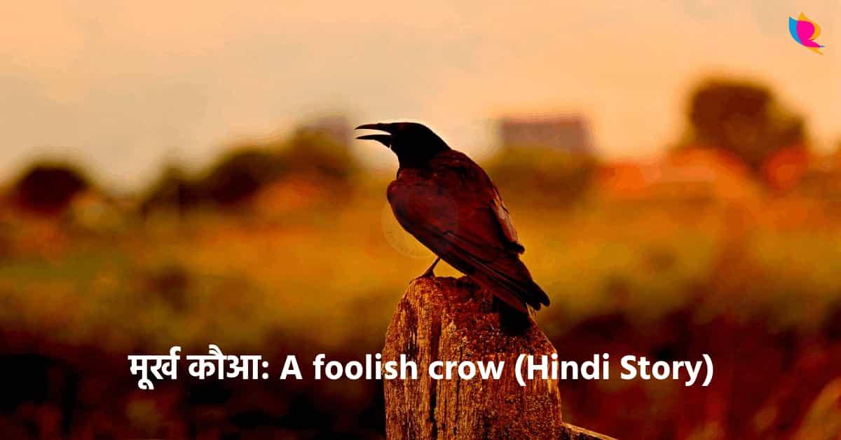 A foolish Crow