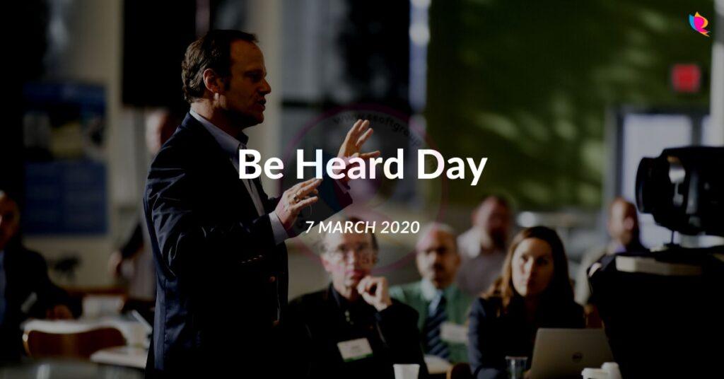 be-heard-day