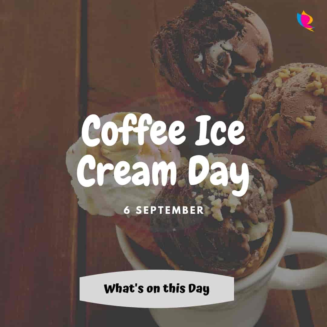 coffee ice cream diwas