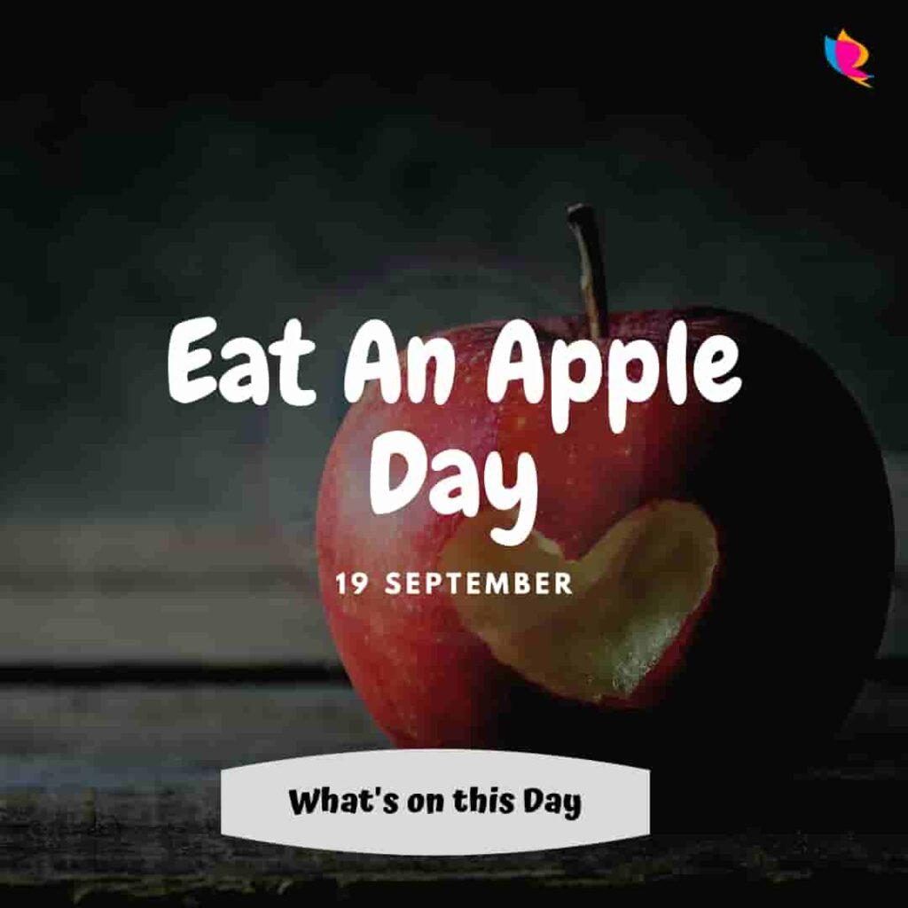 eat an apple a day