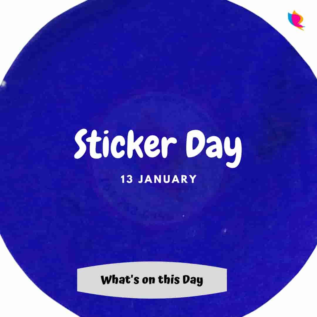 sticker day
