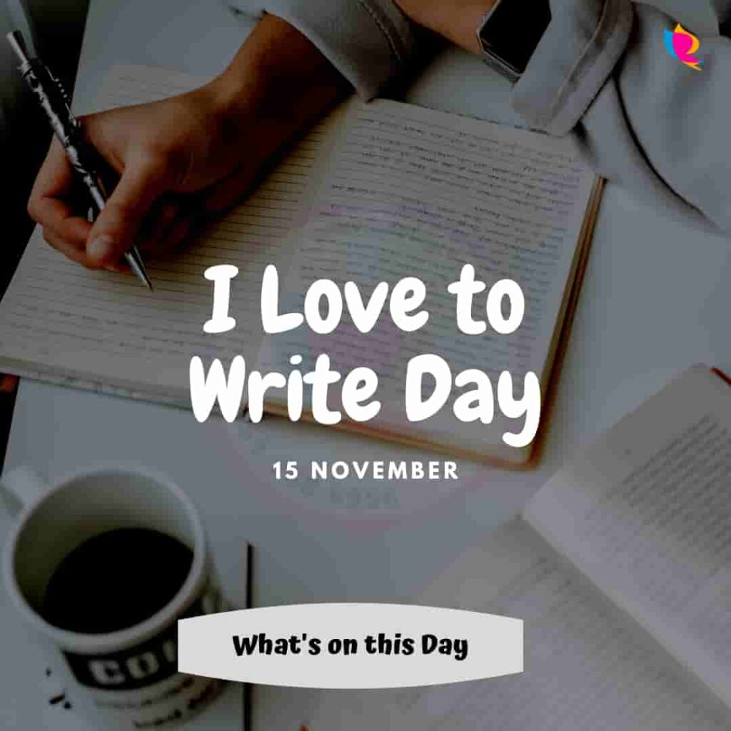 15. i_love_to_write_day