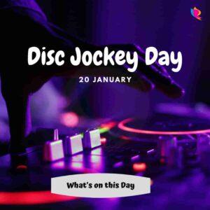 disc jockey day
