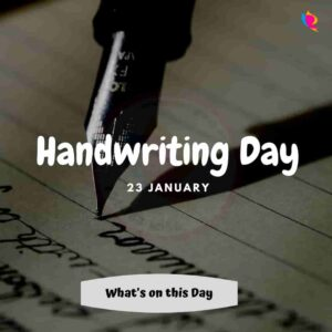 handwriting day