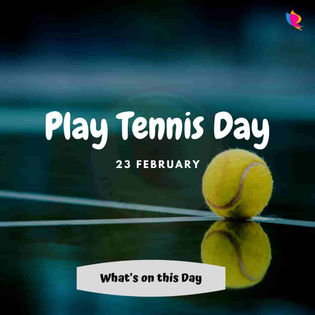 play tennis day